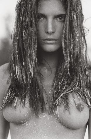 Stephanie Seymour 4, Hawaii, 1986, 14 x 11 Inches, Silver Gelatin Photograph, Edition of 4