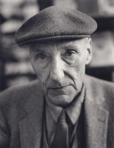 William S. Burroughs, San Francisco, 1980, 10 x 8 Silver Gelatin Photograph