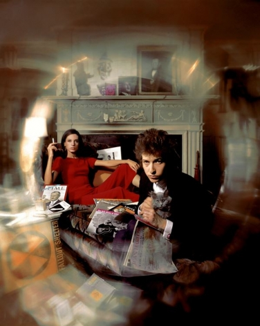 """Bob Dylan and Sally Grossman """"Bringing It All Back Home"""" Album Cover, Woodstock, New York, 1965, Archival Pigment Print"""