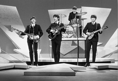 Beatles on the Ed Sullivan Show, 1964, 17 x 22 Archival Pigment Print, Edition 35