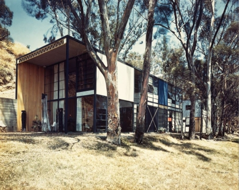 Case Study House #8, Charles Eames, Pacific Palisades, California, 1950