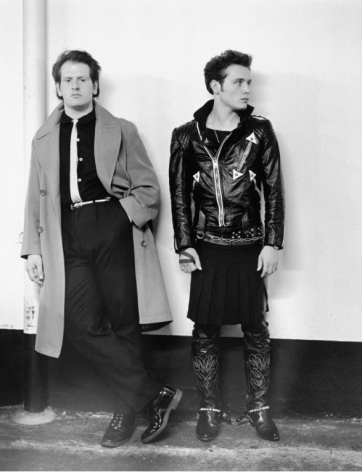 Adam Ant & Marco, 1981, 20 x 16 inches - Archival Pigment Print - Edition of 50