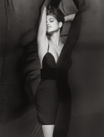 Cindy Crawford - Versace 3, El Mirage, 1990, 14 x 11 Inches, Silver Gelatin Photograph, Edition of 6