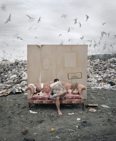 My Life As A Slob, 2003, Archival Pigment Print