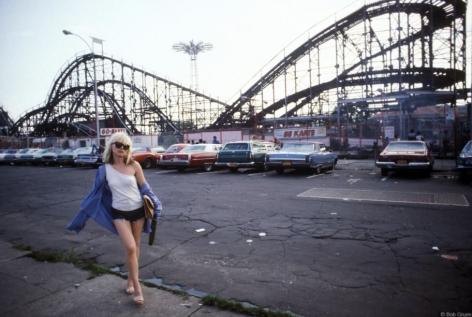 Debbie Harry, Blondie, Coney Island, NY, 1977