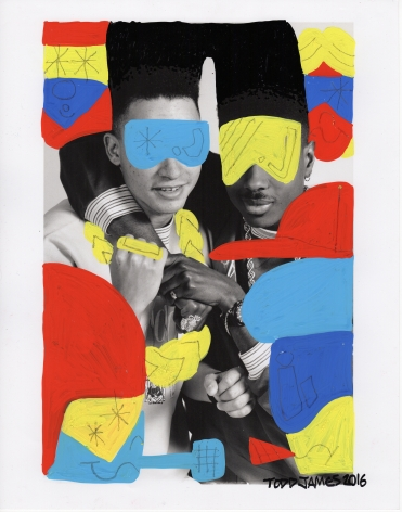 TODD JAMES, Kid N Play 1987/2016, Archival Pigment Print