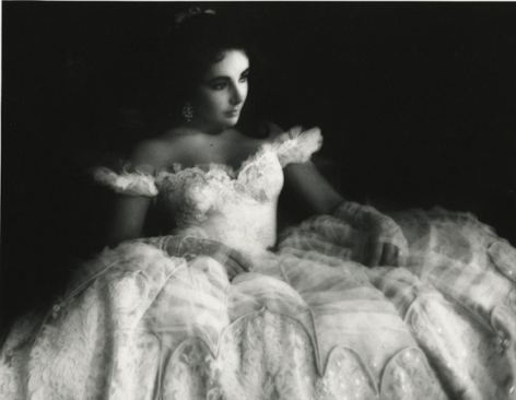 Elizabeth Taylor on the MGM set of Raintree County, Culver City, California, 1956