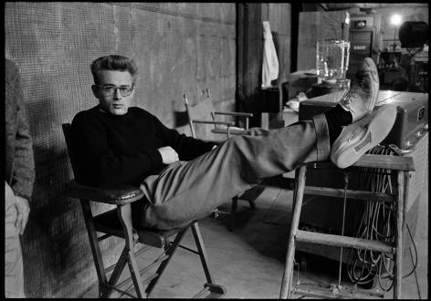 Phil Stern James Dean (Feet Up), 1955