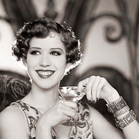 Molly Ringwald, 1920's Style - The Four Decades, Series, 1985, Archival Pigment Print