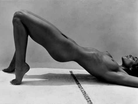 Cindy Crawford, Costa Careyes, 1998, 16 x 20 Inches, Silver Gelatin Photograph, Edition of 25