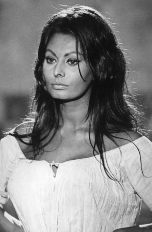 Sophia Loren, Padja, Italy, 1984, Silver Gelatin Photograph