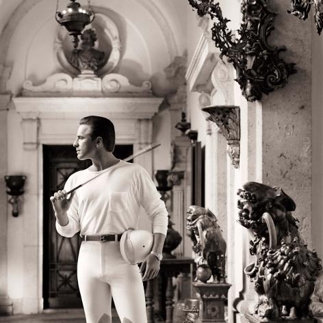 Don Johnson, Polo Clothes, Miami, 1986, Archival Pigment Print