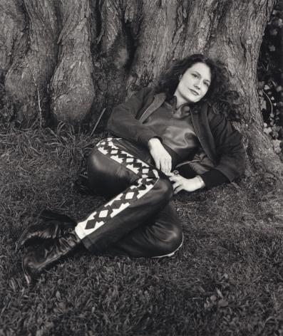 Karen Finley, San Francisco, 2001, 10 x 8 Silver Gelatin Photograph