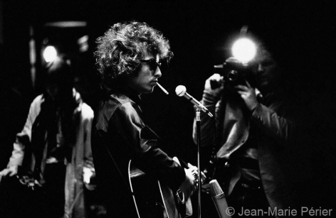Bob Dylan, England, June 1966, C-Print