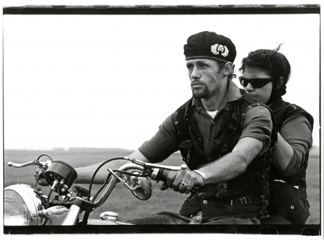 Copyright Danny Lyon / Magnum Photos, Cal and Eileen, from The Bikeriders, 1966