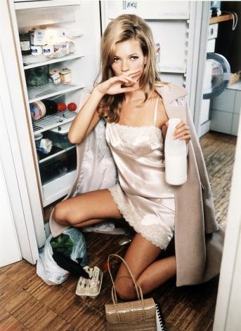 Kate Moss, Milk, 1995, C-Print