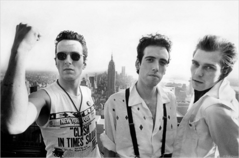The Clash, Top of the Rock, New York City, 1981