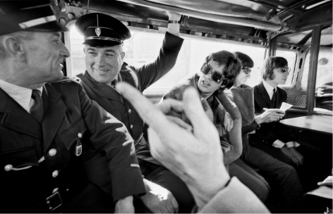 The Rolling Stones, France, July 1965, C-Print