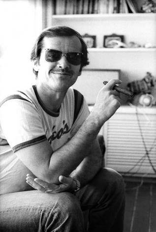 Jack Nicholson at home, Der Stern Magazine, 1970, Silver Gelatin Photograph