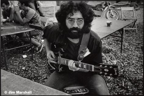 Jerry Garcia, 1969, 11 x 14 Silver Gelatin Photograph