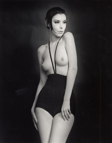 William Claxton Peggy Moffitt in Rudi Gernreich, Topless Swimsuit, 1964 Ed. 8/12