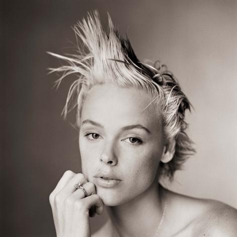 Brigitte Nielsen, Without Makeup II, Los Angeles, 1986, Archival Pigment Print
