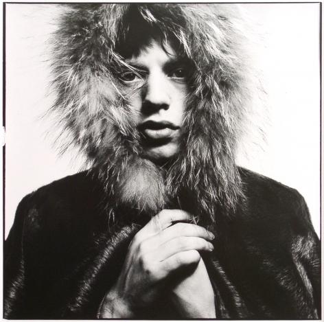 David Bailey Mick Jagger, Fur Hood, London, 1964/2000