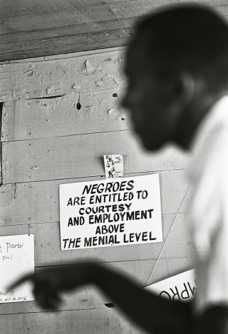 """""""Negroes are entitled to...,"""" 1964, 20 x 16 Inches, Silver Gelatin Photograph, Edition of 25"""