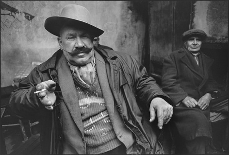 The Man Who Won the Mustache Contest, Istanbul, Turkey,1965, Silver Gelatin Photograph