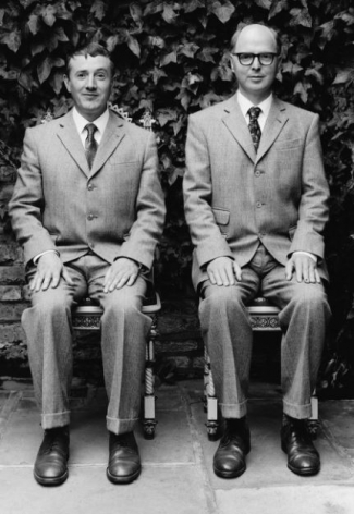 Gilbert and George, London, 1990, 10 x 8 Silver Gelatin Photograph