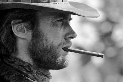 Clint Eastwood (cigar), Durango, Mexico, 1969