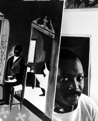 Jacob Lawrence, Brooklyn, New York, 1959, Gelatin Silver Print; Printed Later
