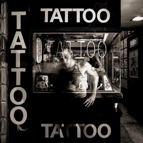 Tom Waits, Tattoo, Hollywood, 1979, Archival Pigment Print