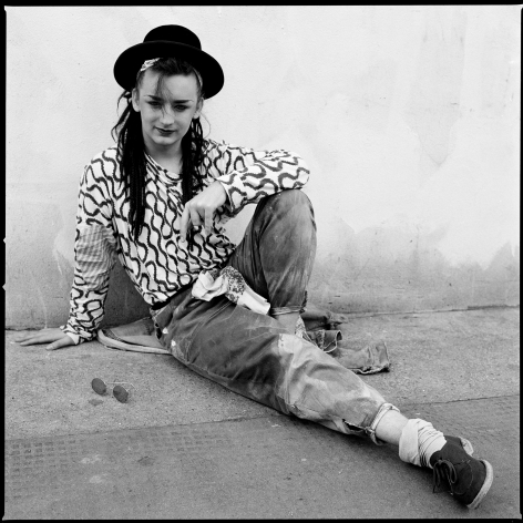 Boy George, London, 1981, 16 x 20 inches - Archival Pigment Print - Edition of 50