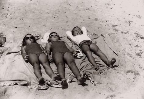 Space Babies, Jones Beach, 1959, Silver Gelatin Photograph