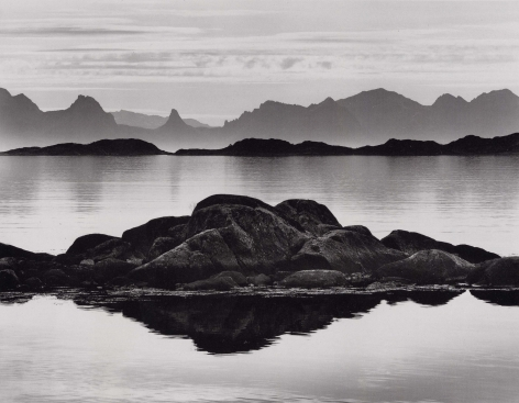 Layers, Lofoten Islands, 2000, 22 x 28 Inches, Silver Gelatin Photograph