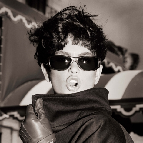 Cindy Crawford, Paparazzi Portrait, Los Angeles, 1989, Archival Pigment Print