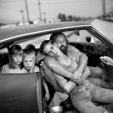 The DammFamily, Los Angeles, CA, 1987, Silver Gelatin Photograph