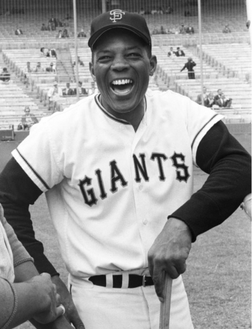 Willie Mays, San Francisco Giants vs LA Dodgers, Candlestick Park, SF, 1962, 20 x 16 Silver Gelatin Photograph, Ed. 150