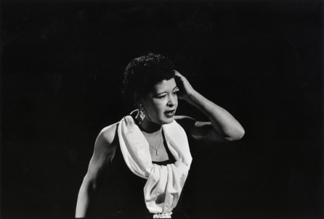 Billie Holiday, Hollywood, 1957, 11 X 14 Silver Gelatin Photograph, Edition of 25