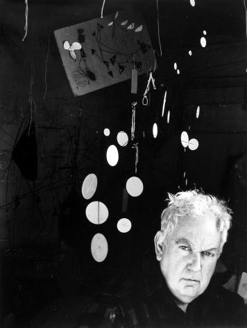 Alexander Calder, 1957, Silver Gelatin Photograph