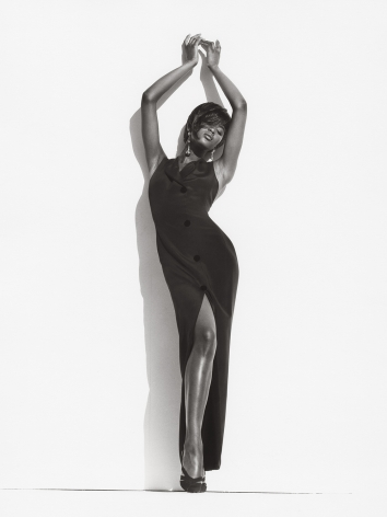 Naomi - Modern Legends, Los Angeles (a), 1989, 14 x 11 Inches, Silver Gelatin Photograph, Edition of 2