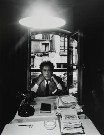 Jean Cocteau, Paris, France, 1960, Silver Gelatin Photograph