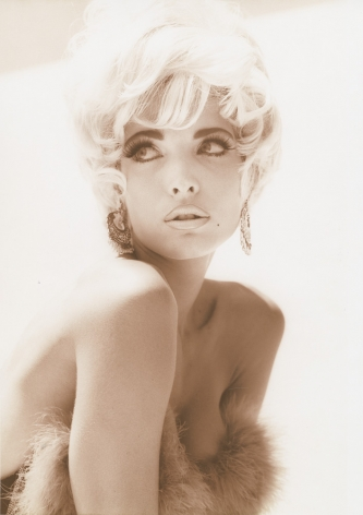 Stephanie - Pin Up 2, Los Angeles, 1990, 14 x 11 Inches, Silver Gelatin Photograph, Edition of5