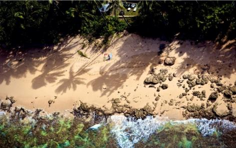 Oahu, Hawaii (Laforet Surfers Aerial 13)