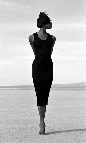 Naomi - Close Fit 1, El Mirage, 1988, 14 x 11 Inches, Silver Gelatin Photograph, Edition of 2