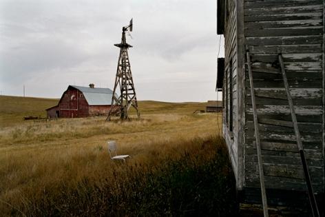 Near Regent, North Dakota, September, 2006, 20 x 24 Archival Pigment Print, Edition 25