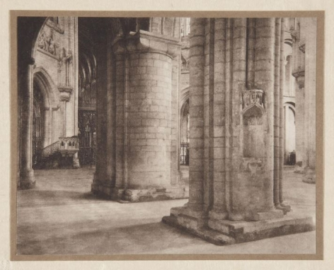 Frederick Evans, Ely Cathedral Across the Nave and Octagon,1897