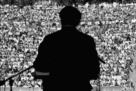 Robert Kennedy at Berkeley, California, 1966, Silver Gelatin Photograph