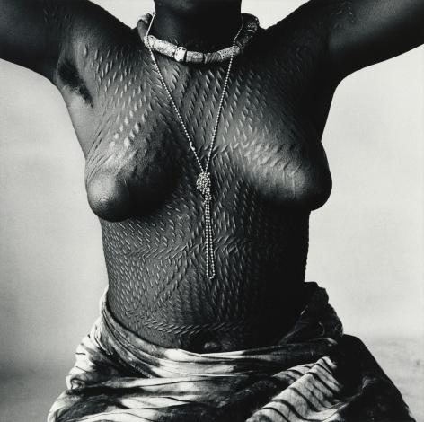 Scarred Dahomey Girl, Dahomey, 1967, Silver Gelatin Print, Ed. of 10